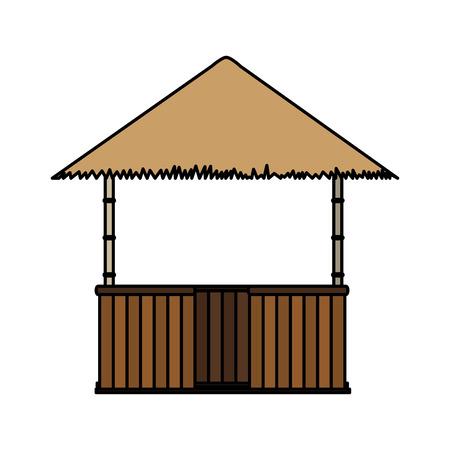 Hut icon design isolated on white background.