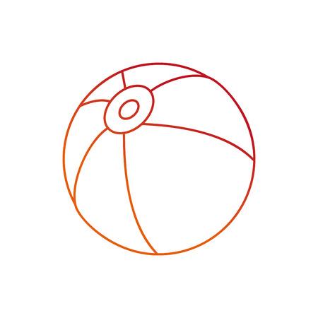 Beach ball design