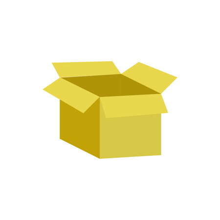 Box of delivery shipping logistics and transportation theme Isolated design Vector illustration