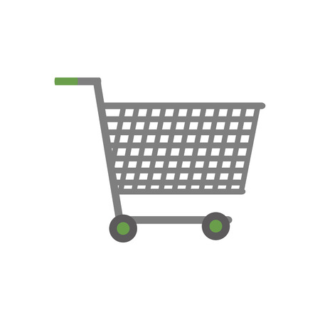 Shopping cart Isolated design Vector illustration