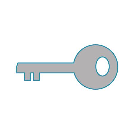 Isolated key design