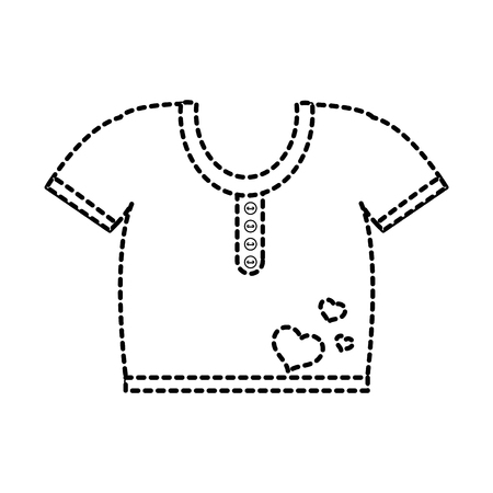 Baby Tshirt Design Vector Illustration Royalty Free Cliparts