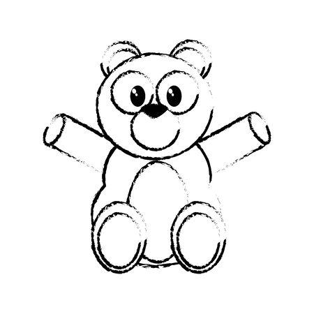 Bear cartoon design Vector illustration. Иллюстрация