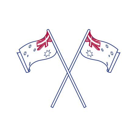 Australian flag design.