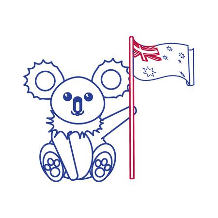 Australian koala design.