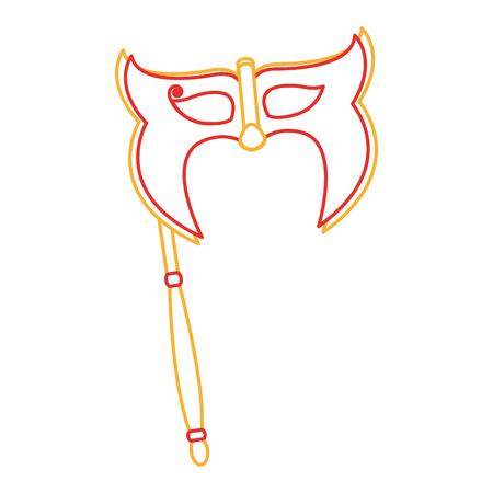 Isolated mask design.