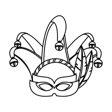 Carnival mask icon.