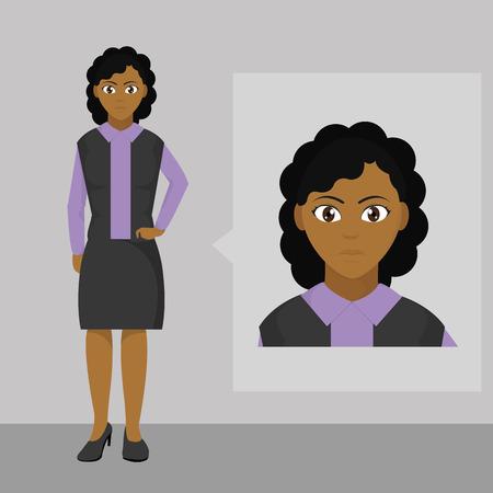 Avatar woman design