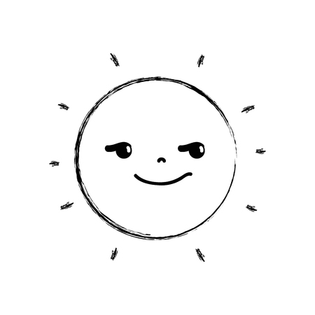 Rogue and cute sun kawaii weather.