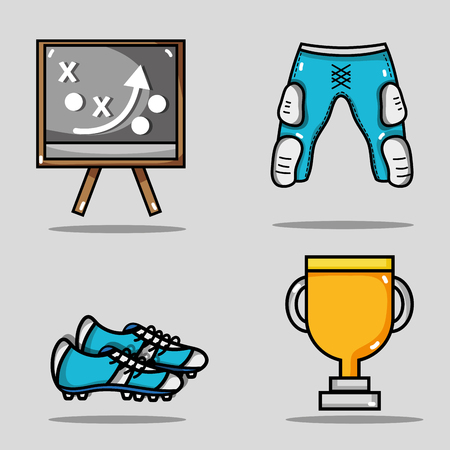 set amercan football elements to competition