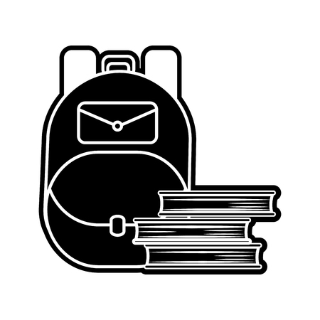 Bag of baggage luggage and tourism theme Isolated design Vector illustration