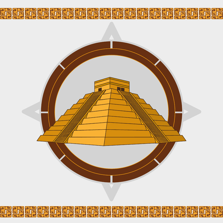 Maya design de la culture . illustration Banque d'images - 93200899