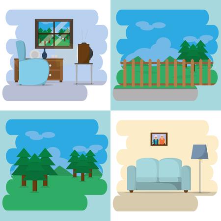 Room and furniture design