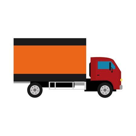 Isolated truck design illustration. Illustration