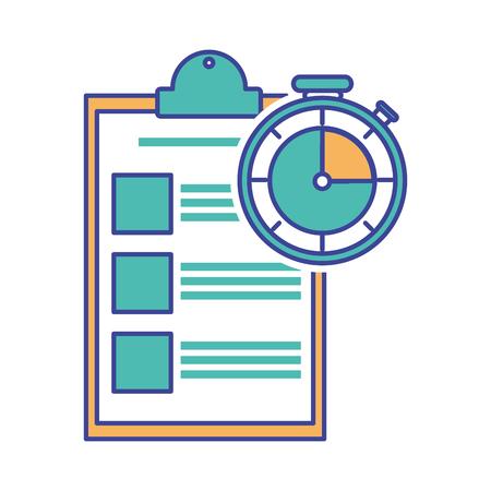 Checklist and chronometer design