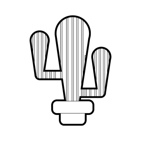Cactus of plant desert and nature theme Isolated design Vector illustration 矢量图像