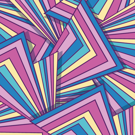 Colorful seamless pattern shapes background design.