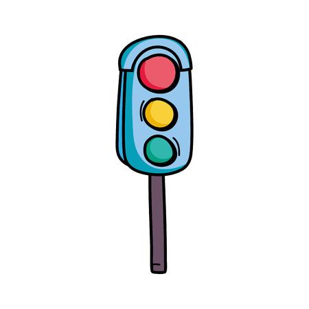 Roter Ampel Licht Auf Stark Befahrenen Strasse Mit Mehreren