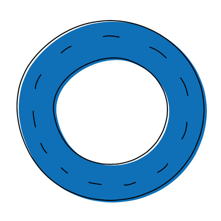 Color vehicle tire of rubber wheel design.