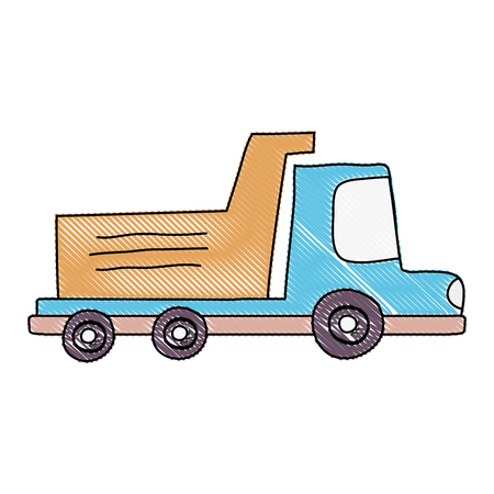 grated dump truck industry and contruccion vehicle
