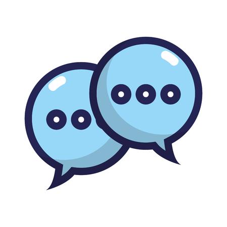 chat bubbles text notes messages