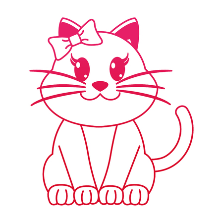 Female feline cute animal