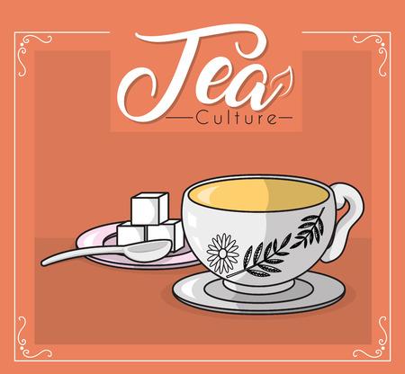 Tea culture concept