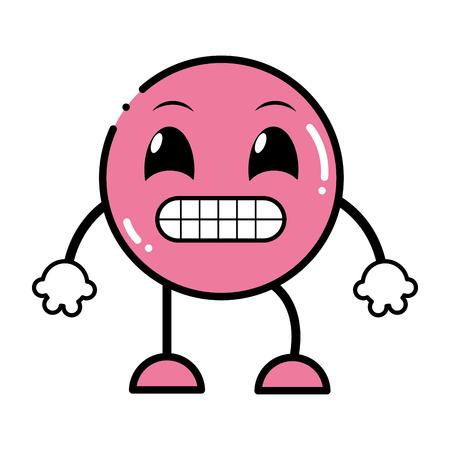 Hand drawn emoji expression