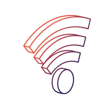Line wifi technology to connect in the digital network