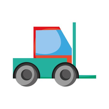 Forklift machine vehicle to industry transportation