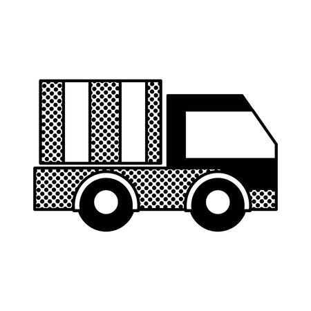 Filling texture truck vehicle transportation for business delivery