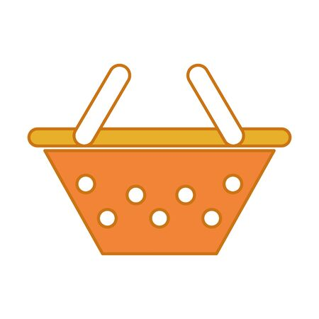 Color commerce shopping basket design to buy