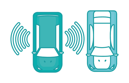 duo color cars with digital wifi connection technology