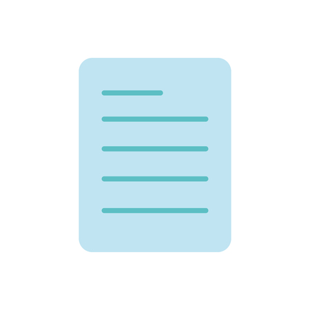 colorful business office paper document information