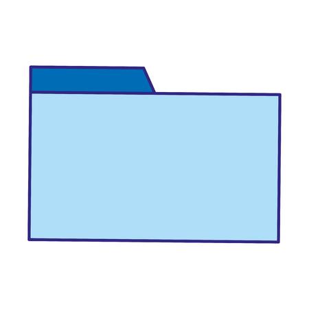 duo color file folder archive to organize information Vector illustration. 矢量图像