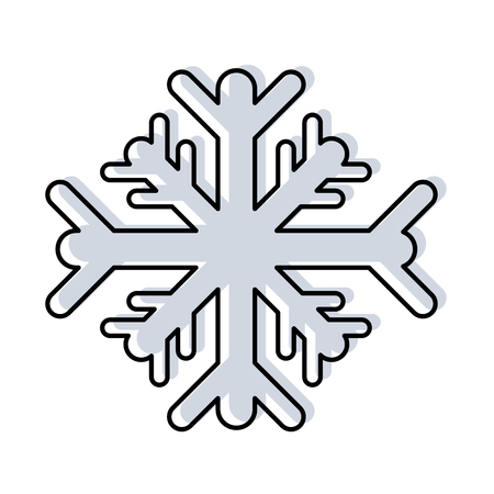 移動色雪片寒天の自然の季節  イラスト・ベクター素材
