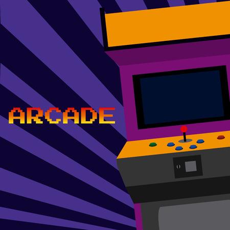 Arcade vintage videgame