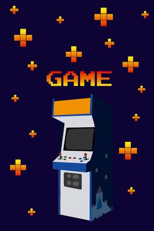 Arcage vintage game