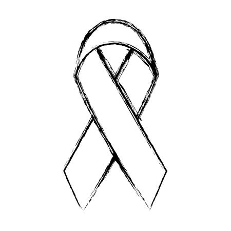 grunge medicine ribbon sign of life care
