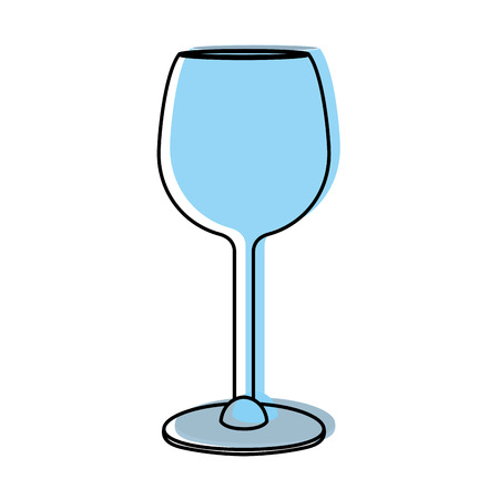 moved color crystal glass object to drink wine
