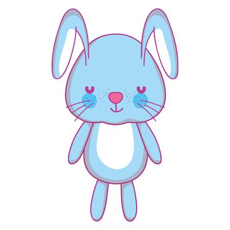 Nice male rabbit teddy toy.