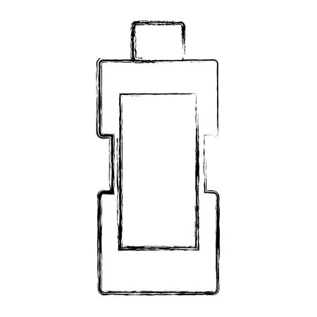 Detergent bottle icon Ilustrace