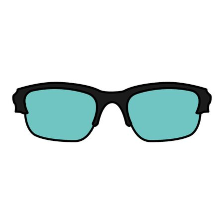 Color optical frame glasses object style