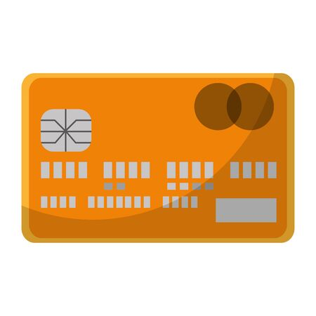 business credit card commerce technology vector illustration