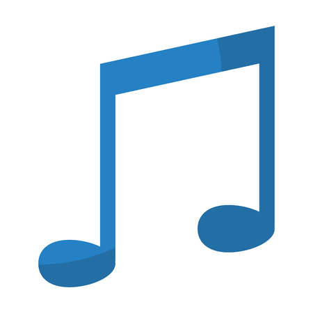 rhythm music note tone sign vector illustration