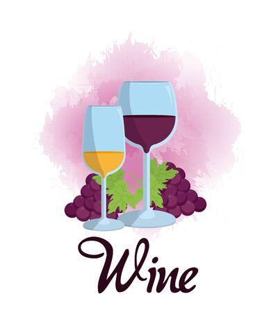 Wine glass cups
