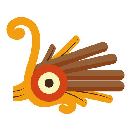 Indigenous alt native culture symbol icon