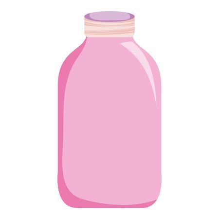 Nice clean bottle glass object.