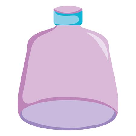 Glass bottle image illustration