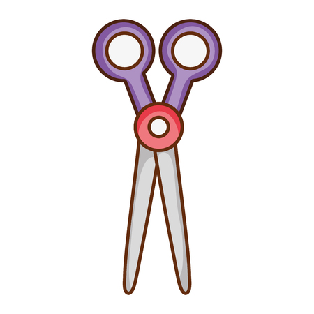 scissors object to cut art decoration